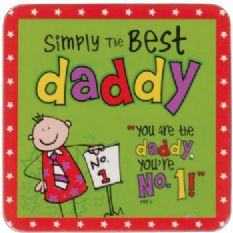 Morsom Drikke Brikke! - 'Simply the Best Daddy'