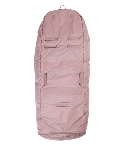 SUPERDEAL Easygrow Hood Wool Pink Rose Melange + Top Bar FRIFRAKT