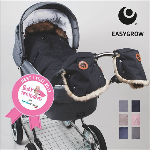 Best i Test Easygrow Nature Sleepingbag - Solid Grey FRIFRAKT