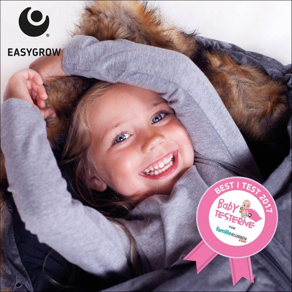 Best i Test Easygrow Nature Sleepingbag - Grå Melange FRIFRAKT
