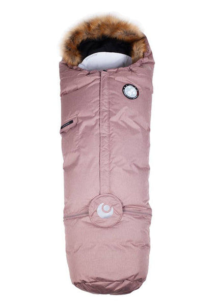 Best i Test Easygrow Nature Sleepingbag - Pink Rose Melange FRIFRAKT