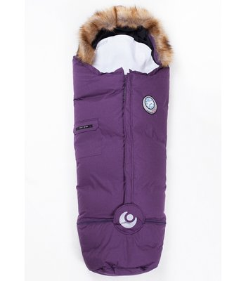Best i Test Easygrow Nature Sleepingbag - Plum Melange FRIFRAKT