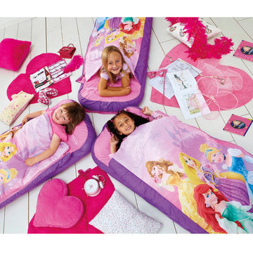 Readybed 2-i-1 Sovepose + madrass - Prinsesser/Princesses