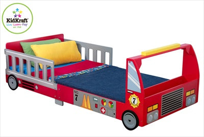 Barneseng - 'Fire Truck Toddler Bed/Brannbil' - FRIFRAKT!