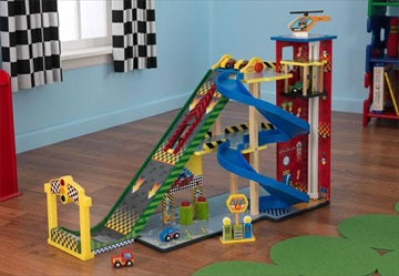 Lekesett - 'Mega Ramp Racing Set' - FRIFRAKT!