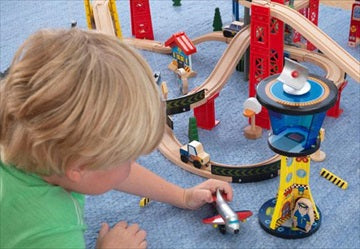 Lekesett - 'Super Highway Train Set' - FRIFRAKT!