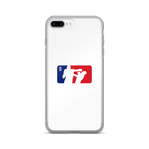 Boost Fighter White iPhone Case