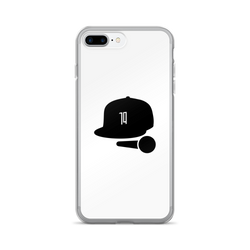 Boost Rap White iPhone Case