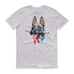 German Shepherd Patriotic Beast Unisex T-Shirt