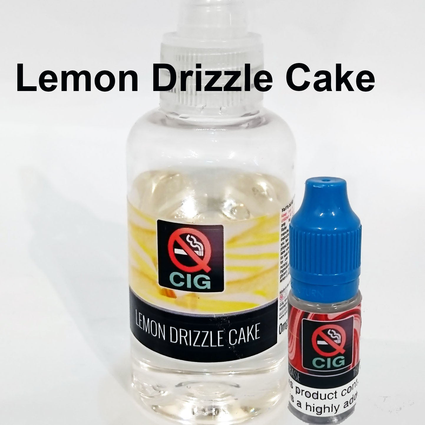 Lemon Drizzle Cake 50ml Shortfill