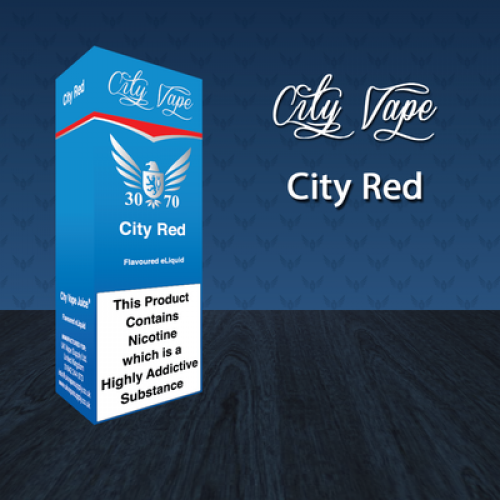 City Vape City Red 30/70 E-Liquid