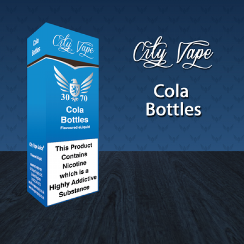 City Vape Cola Bottles 30/70 E-Liquid