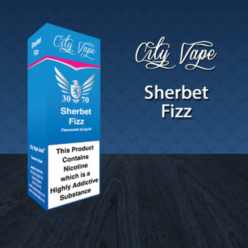City Vape Sherbet Fizz 30/70 E-Liquid
