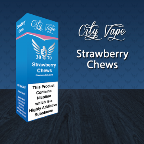 City Vape Strawberry Chew 30/70 E-Liquid
