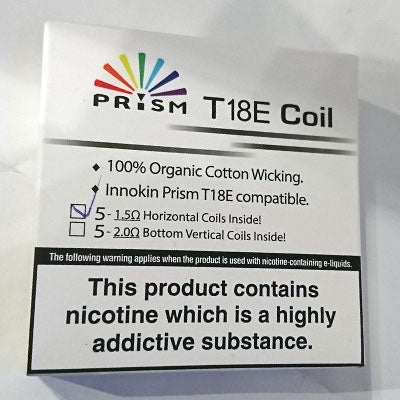 Innokin Prism T18E/T22E Genuine replacement coils