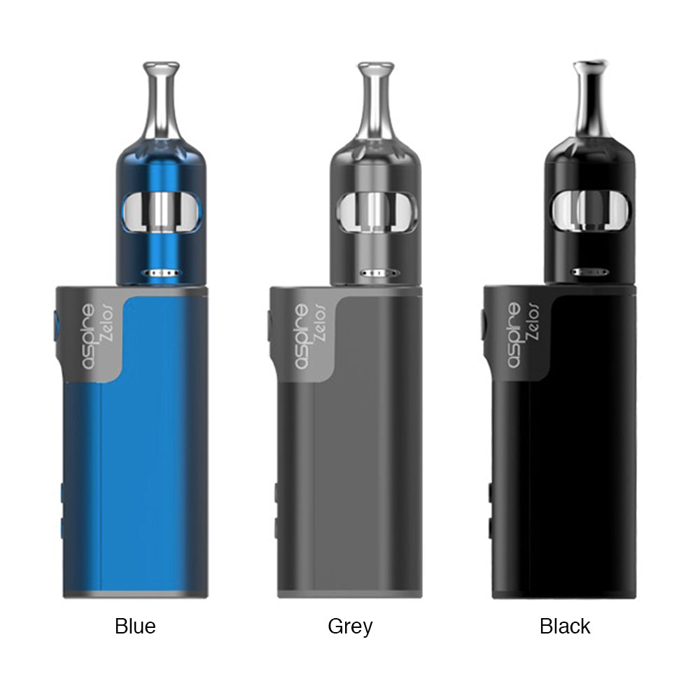 Aspire Zelos 2 Kit [Blue] [Quality Vape E-Liquids, CBD Products] - Ecocig Vapour Store