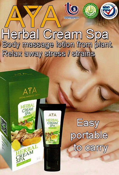 AYA Herbal Cream Spa, pain refief massage balm