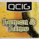 Lemon & Lime Flavoured Vape E-Liquid - QCig - 60VG / 40PG