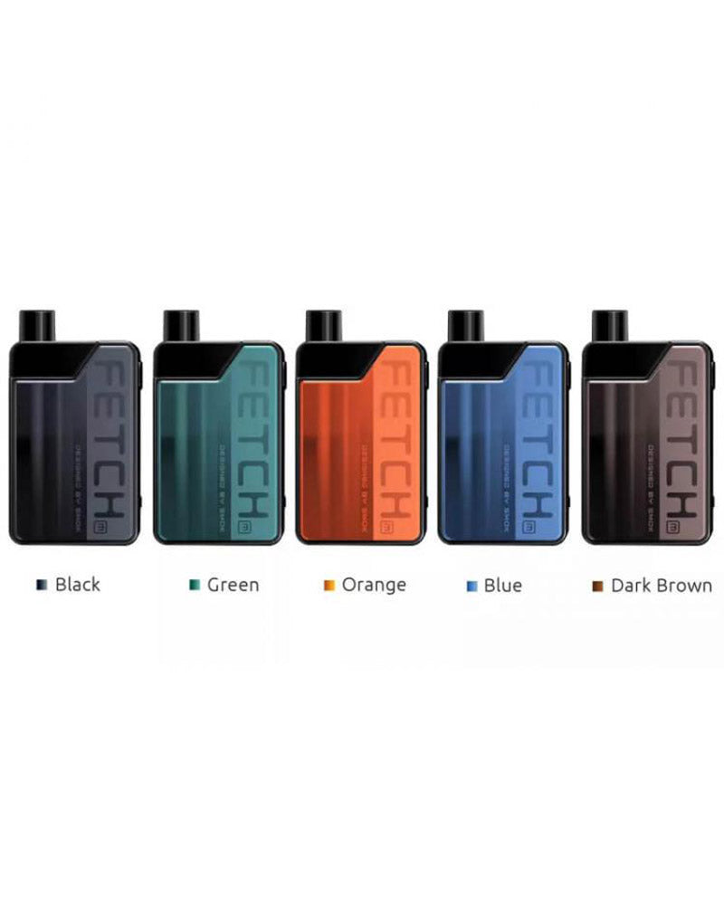SMOK Fetch Mini Pod Kit [Black] [Quality Vape E-Liquids, CBD Products] - Ecocig Vapour Store
