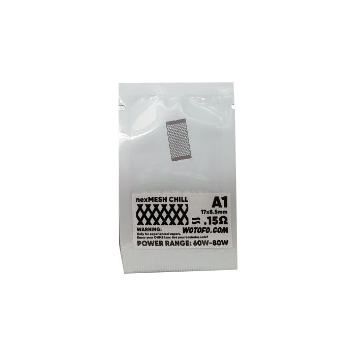 Wotofo Profile RDA Strips - 10 Pack [0.15ohm Chill] [Quality Vape E-Liquids, CBD Products] - Ecocig Vapour Store