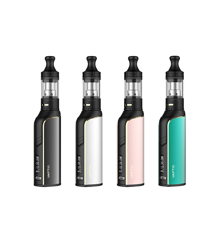 Vaptio Cosmo Plus Kit [Black] [Quality Vape E-Liquids, CBD Products] - Ecocig Vapour Store