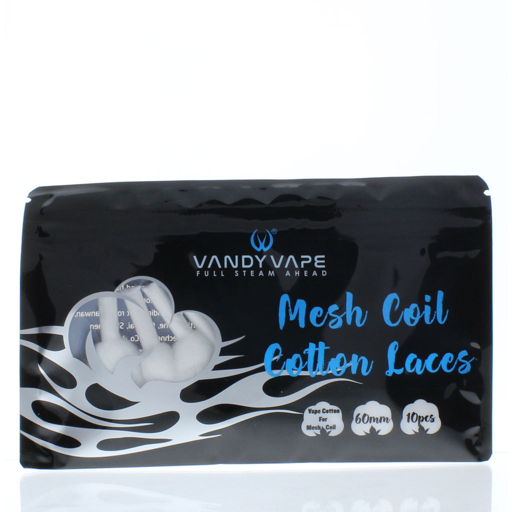 Vandy Vape Kylin M Cotton Laces - 10 Pack [Quality Vape E-Liquids, CBD Products] - Ecocig Vapour Store