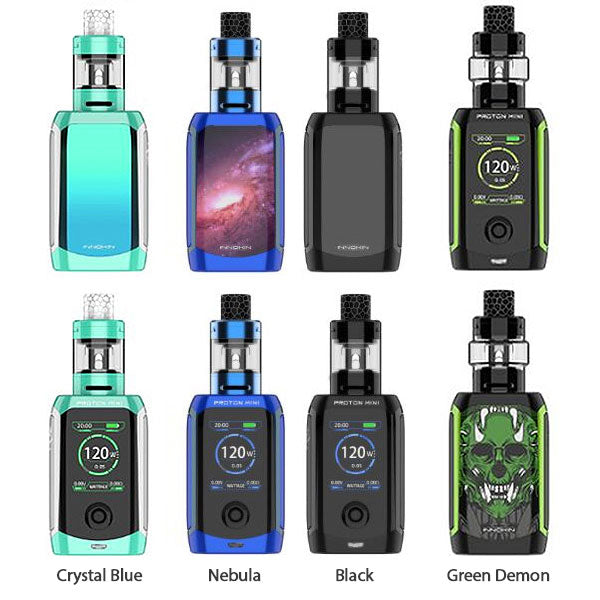 Innokin Proton Mini Ajax Kit [Black] [Quality Vape E-Liquids, CBD Products] - Ecocig Vapour Store