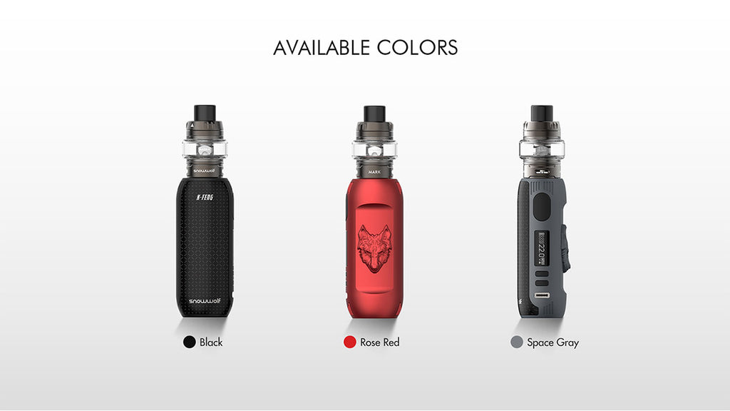 Snowwolf Kfeng Kit [Rose Red] [Quality Vape E-Liquids, CBD Products] - Ecocig Vapour Store