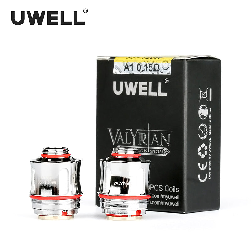Uwell Valyrian 2 Coils - 2 pack [Triple Mesh 0.16ohm] [Quality Vape E-Liquids, CBD Products] - Ecocig Vapour Store