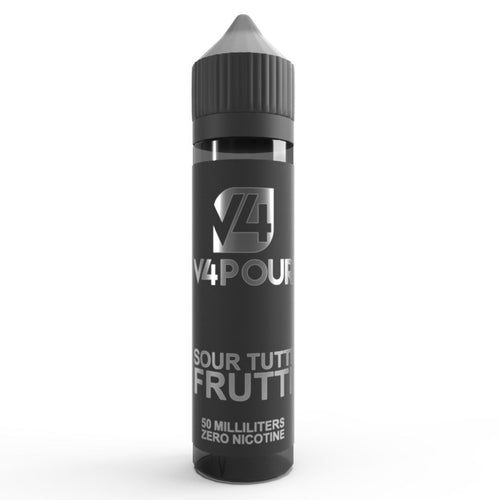V4POUR Sour Tutti Frutti 50ml Shortfill Eliquid