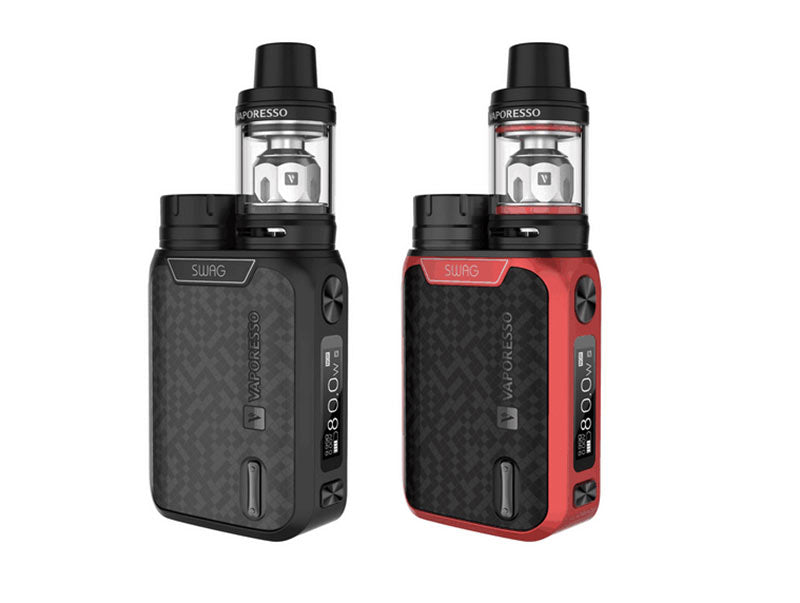 Vaporesso Swag Kit [Red] [Quality Vape E-Liquids, CBD Products] - Ecocig Vapour Store