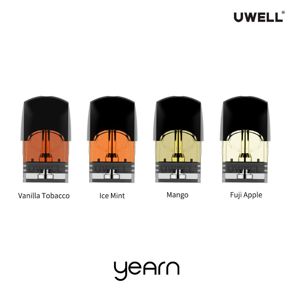 Uwell Yearn Pods - 4 Pack [1 x Each Flavour] [Quality Vape E-Liquids, CBD Products] - Ecocig Vapour Store