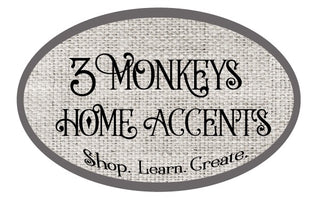 3 Monkeys Home Accents