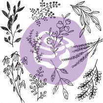 Clear Cling Stamps Prima