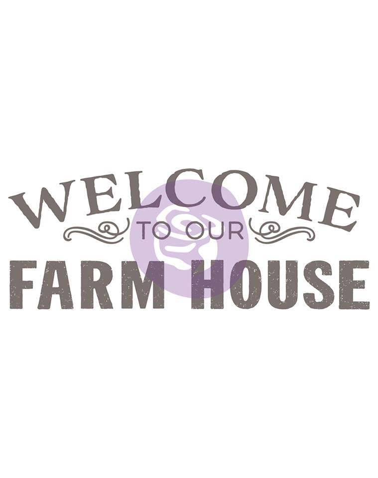 Re-Design Decor Transfers  Farm Signs Re-Design with Prima