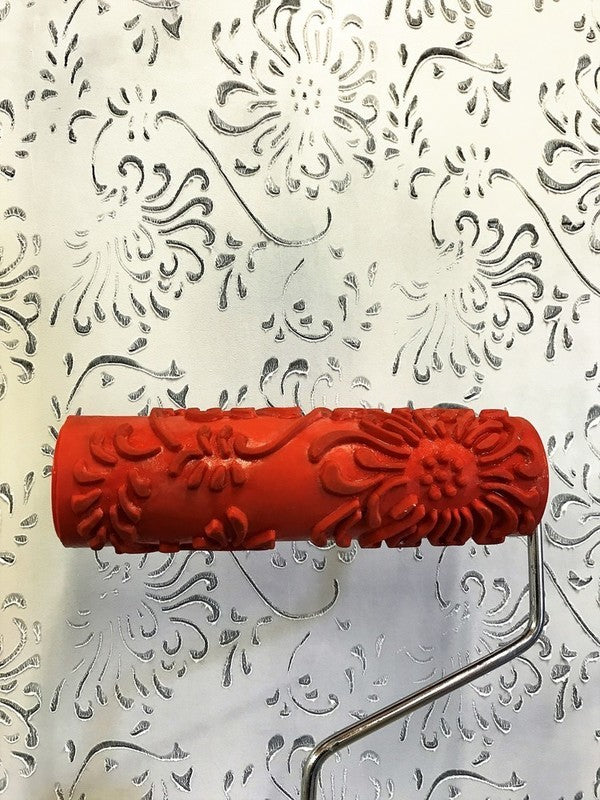 Decorative Art Roller with Handle