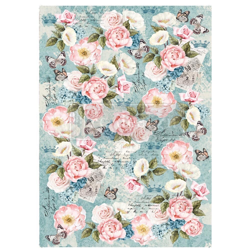 Re-Design Decoupage Decor Tissue Paper Re-Design with Prima