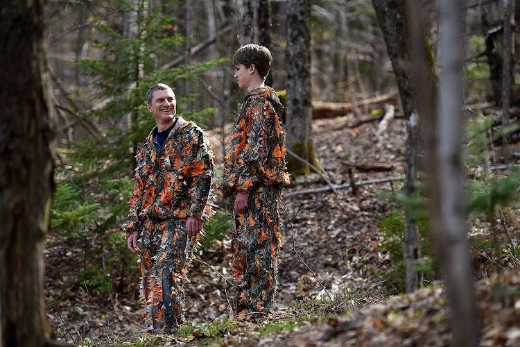 Press Release: Vermont Teenager Invents New Type of Hunting Camo