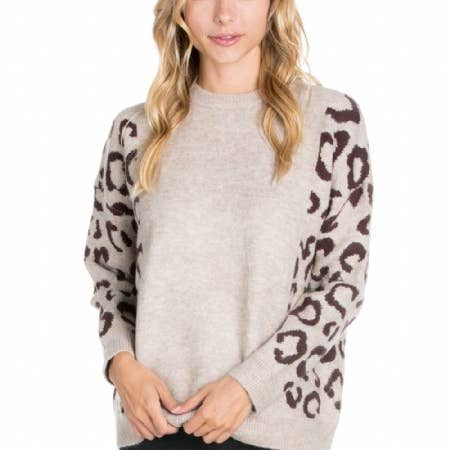 Leopard Crush Sweater