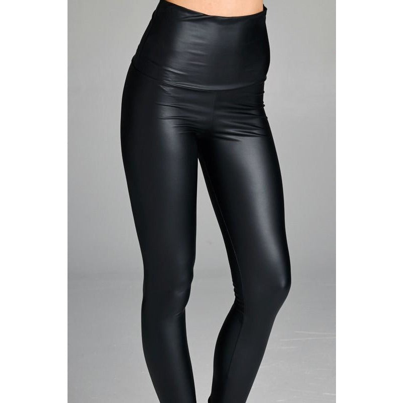Vegan Leather Pant - Studio To Street Boutique