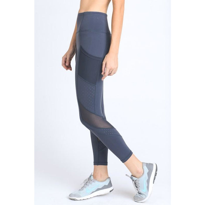 Dot Mesh Legging - Studio To Street Boutique