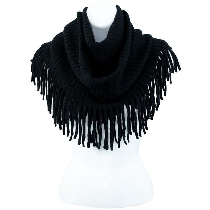 Infinity Fringe Scarf - Studio To Street Boutique
