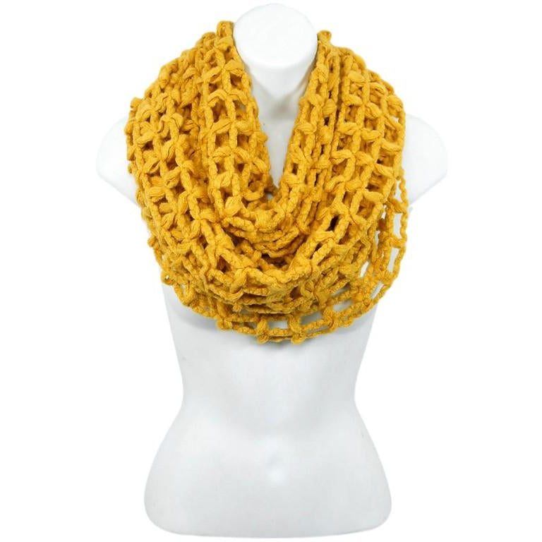Infinity Cage Knit Scarf - Studio To Street Boutique