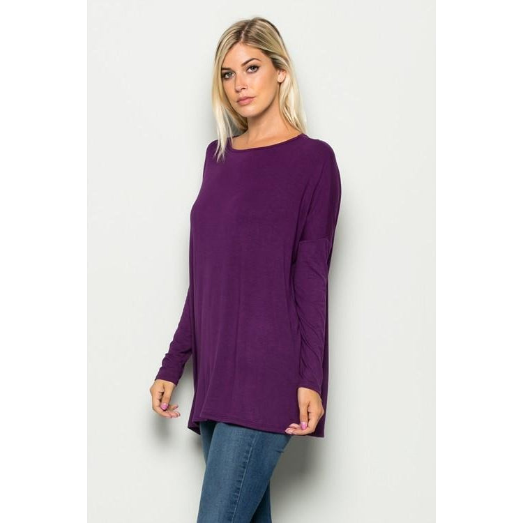 The Original Long Sleeve Piko Top - Studio To Street Boutique