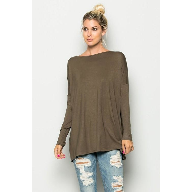 The Original Long Sleeve Piko Top