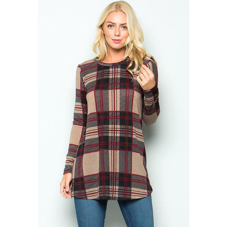 The Plaid Tunic