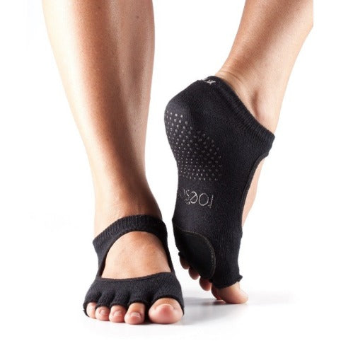 ToeSox Plie Half Toe With Dance Pad Grip Socks
