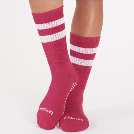 Be Happy  StickyBe Grip Socks
