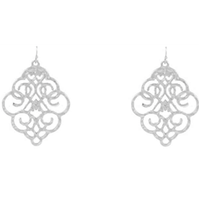 Solid Filigree Earrings - Studio To Street Boutique