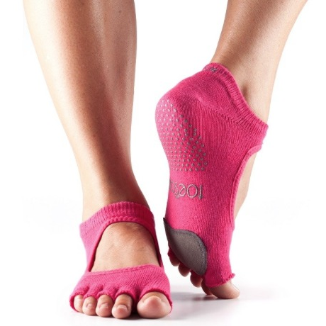 ToeSox Plie Half Toe With Dance Pad Grip Socks - Studio To Street Boutique
